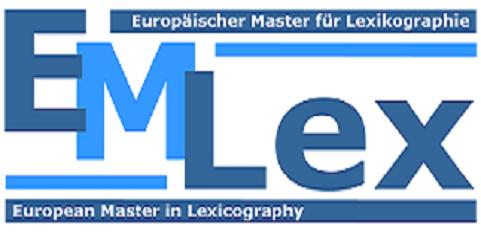 EMLex - European Master in Lexicography